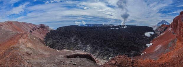 Кратер вулкана Авачинский