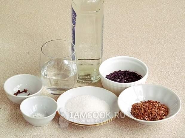 Ингредиенты для коньяка в домашних условиях