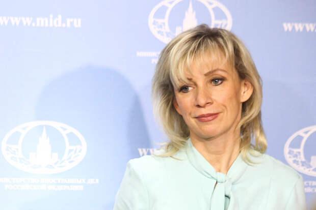 Захарова назвала причины задержания россиянки в Минске