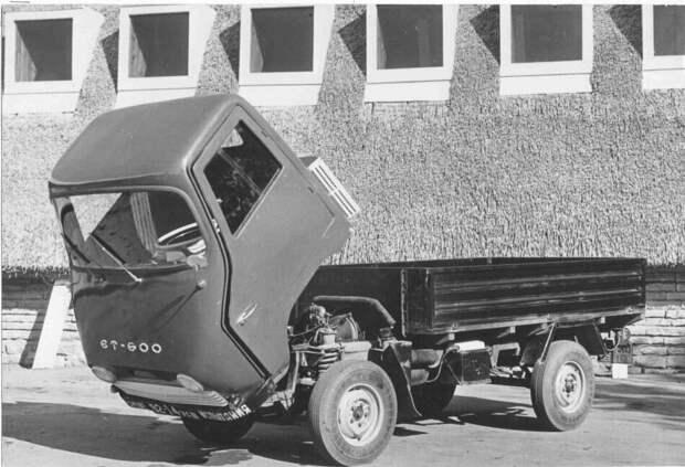Советский грузовичок, который малоизвестен т.к. никогда не выпускался серийно, ЭТ 600