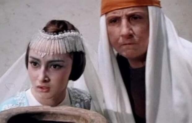 Екатерина Верулашвили в фильме *Волшебная лампа Аладдина*, 1966   Фото: kino-teatr.ru