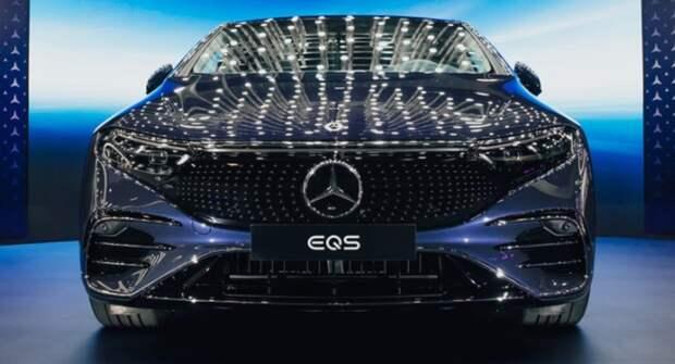 Автопроизводитель Mercedes-Benz показал свой первый электрический седан класса «люкс»