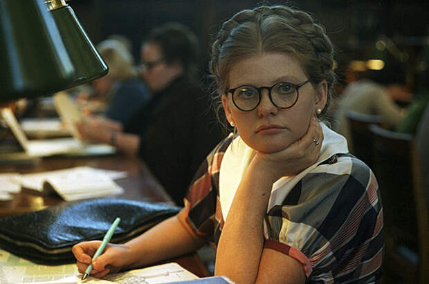 Ирина Муравьёва в фильме «Москва слезам не верит», 1979 г.