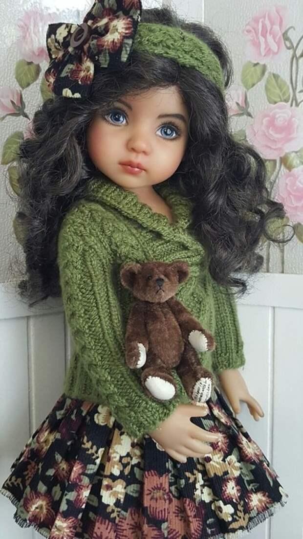 На таких кукол хочется смотреть бесконечно!