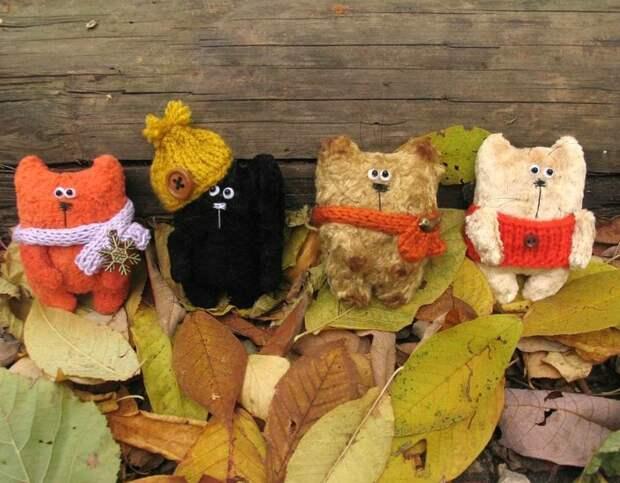 Осень... время шить теплых котов!