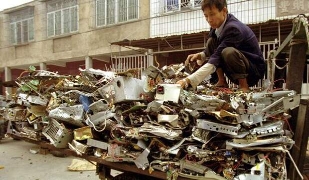 Китайский Гуачжу: Е-свалка и самый грязный город Земли
