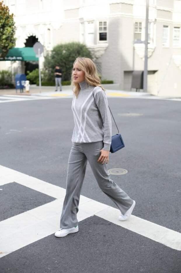 Кеды – удобная и стильная обувь. /Фото: fashiontrendwalk.com