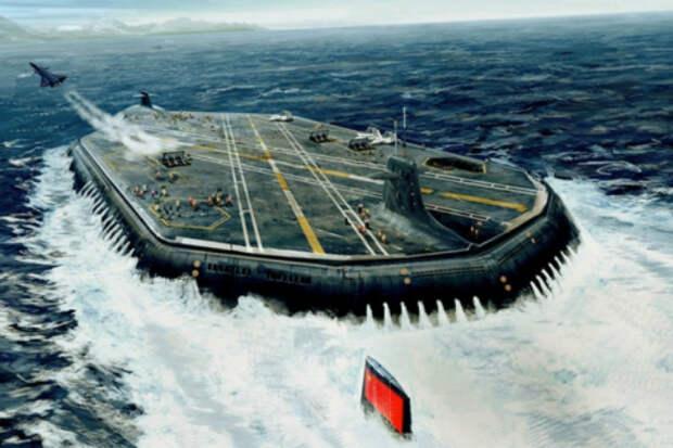 Проект 941-бис: Россия хочет создать подводный авианосец