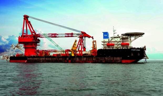 Вопреки санкциям «Фортуна» начала осваивать воды Дании