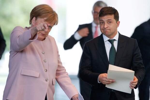 Зачем канцлер ФРГ Ангела Меркель летит в Киев