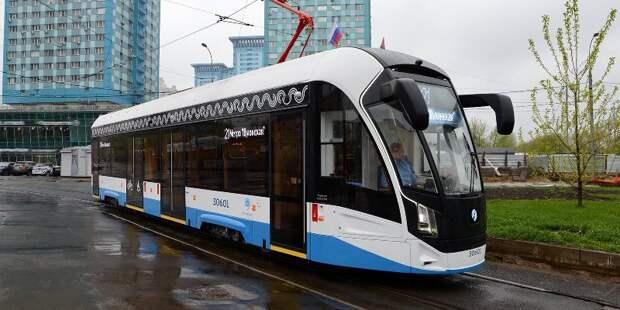 Новые трамваи вышли на маршруты на северо-западе столицы