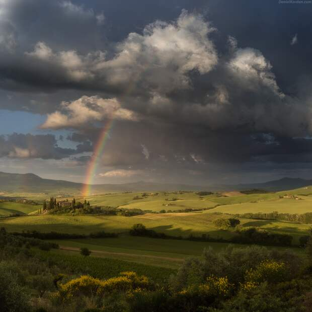 Завораживающие пейзажи Даниила Коржонова