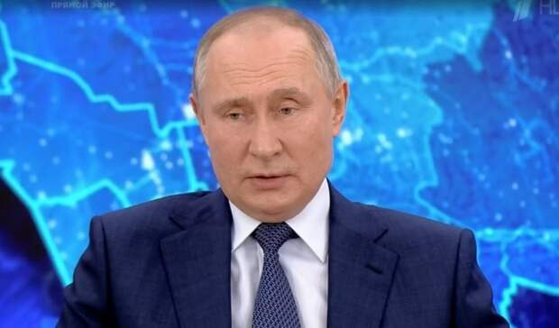 Владимир Путин не стал скрывать результаты своего теста на антитела к COVID-19