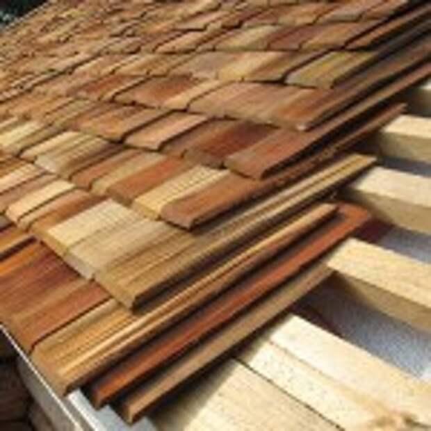 Крыша из дранки для дома и дачи