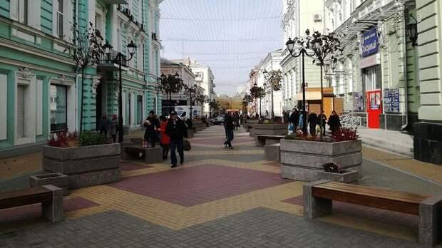 Большую Садовую вРостове-на-Дону предложили перекрывать повыходным