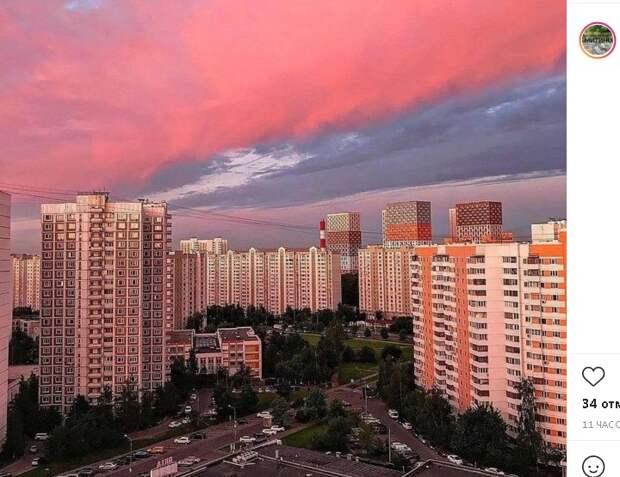 Фото дня: вечер красит нежным цветом