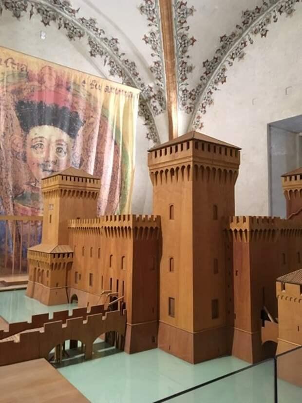 Замок д'Эсте в Ферраре.