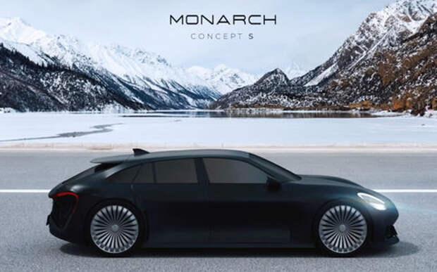 Новая российская автомарка - это будут электромобили Monarch