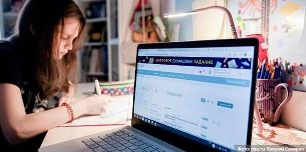Эксперт РАН: Наличие МЭШ облегчило переход школ к интернет-обучению. Фото: Е. Самарин mos.ru