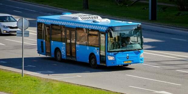 Как изменится работа общественного транспорта в пяти районах столицы в мае