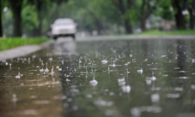 Вопрос на засыпку: от чего зависит размер капель дождя?