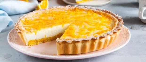 Рецепт изумительно нежного творожного пирога с апельсиновым ароматом – райское наслаждение
