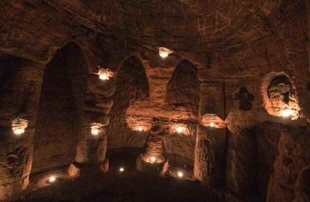 Под землей нашли древний храм тамплиеров