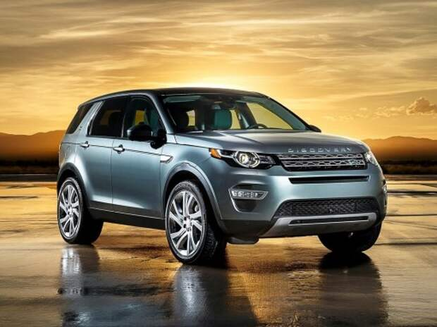 Новый Land Rover Discovery Sport сменил на вахте модель Freelander