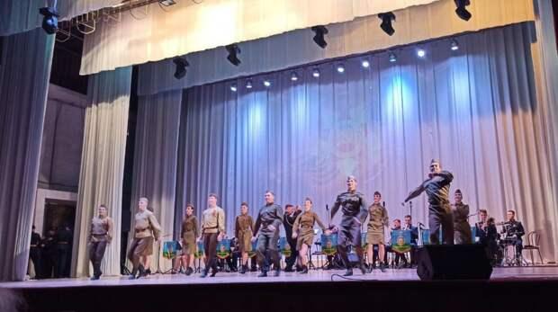 В Керчи выступил Ансамбль песни и пляски Воздушно-десантных войск России