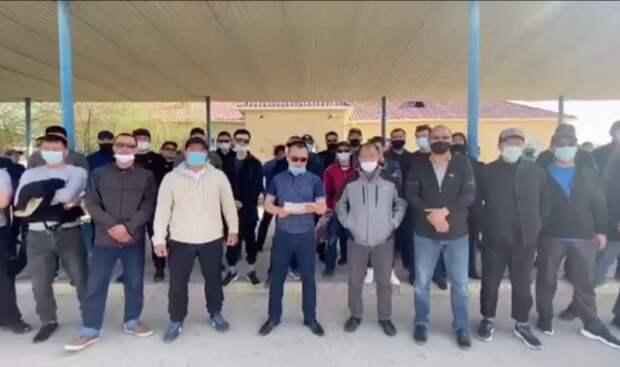 ВКазахстане вновь бастуют нефтяники