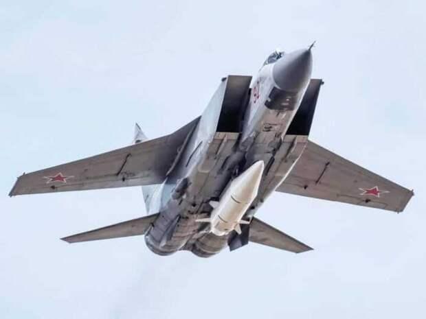 В США предсказали большое будущее российским МиГ-31