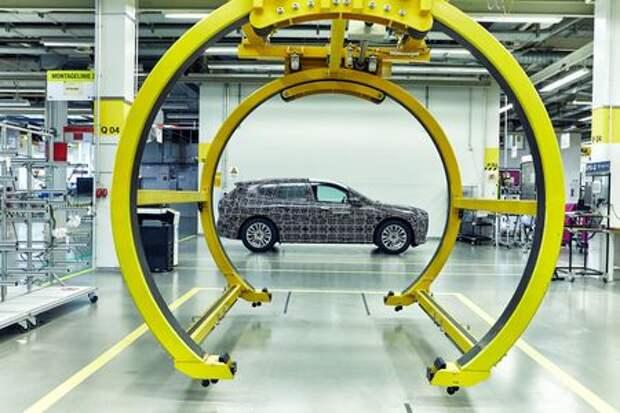 Электрический внедорожник BMW iNEXT встал на конвейер