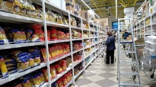 Стоимость продовольственной корзины на Украине превысила цены в Европе и РФ