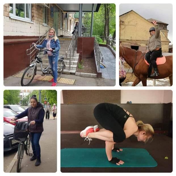 Соцработники из Свиблова пересели на велосипеды и лошадей