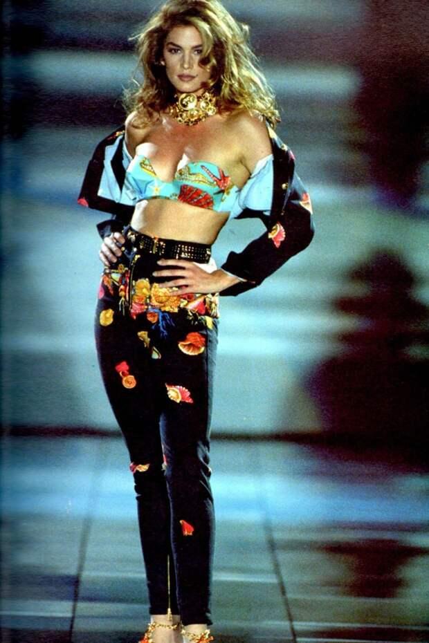 Синди Кроуфорд — королева подиумов 1990-х