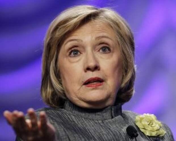 Экс-глава Госдепартамента США Хиллари Клинтон