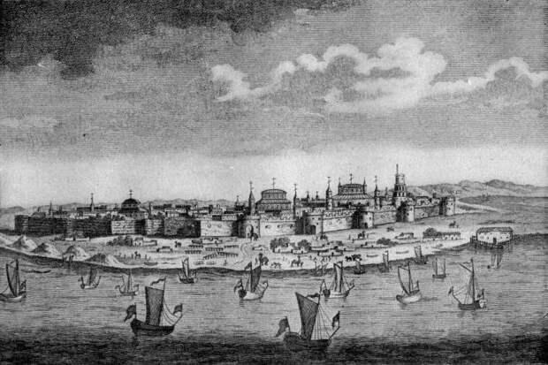 Астрахань в начале XVIII века