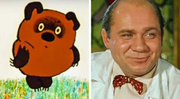 Прообразы знаменитых персонажей из советских мультиков (12 фото)