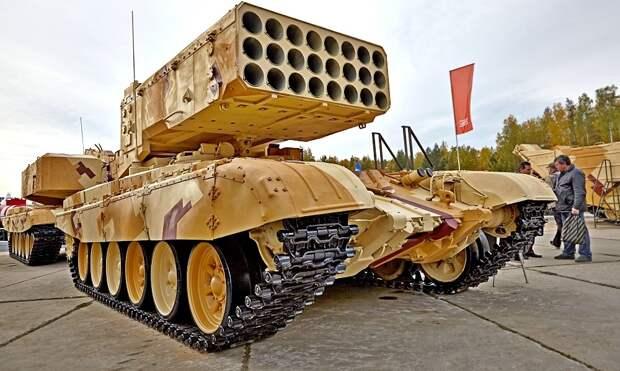 """Модернизированную ТОС-1 """"Солнцепек"""" передадут в войска РХБЗ до конца года"""