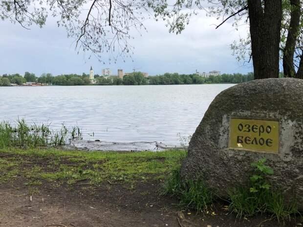 Берега Белого озера очистят. Фото предоставлено пресс-служба префектуры ВАО