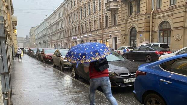 Петербуржцев ждут дождливые выходные