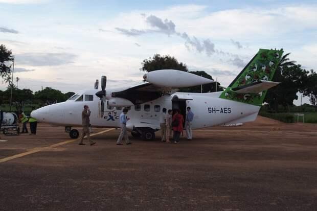 Как наши в Африке летают :  Л-410