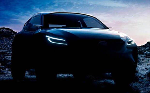Subaru везет в Женеву новый кроссовер