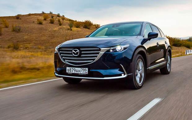 Тест-драйв нового кроссовера Mazda CX-9: сядут все!