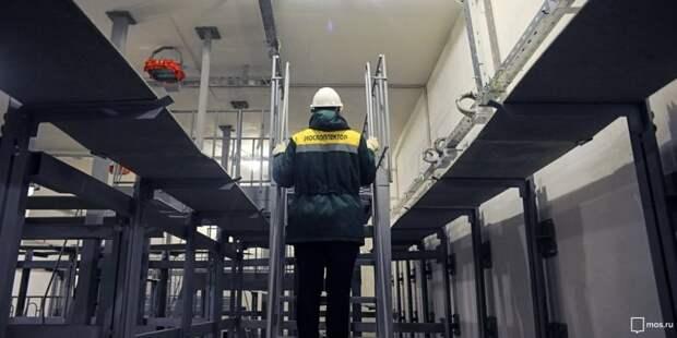 В районе Сокол планируется обновить кабельный коллектор