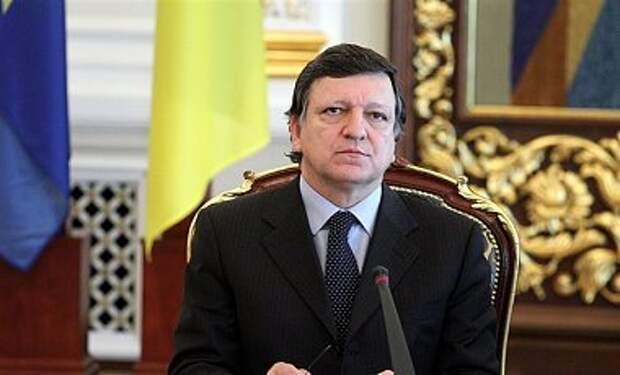 Баррозу предлагает применить к России двойной подход