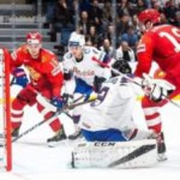 Сборная России по хоккею разгромила Норвегию в первом матче чемпионата мира