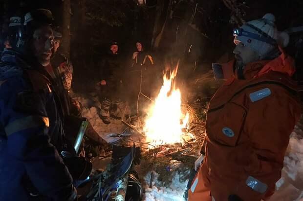Во время спасательной операции. Фото: Северо-Западный региональный поисково-спасательный отряд МЧС России