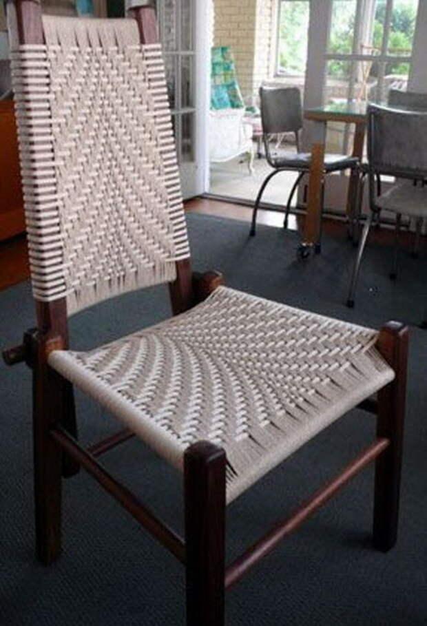 Плетение сидений своими руками. Мастер-класс и идеи