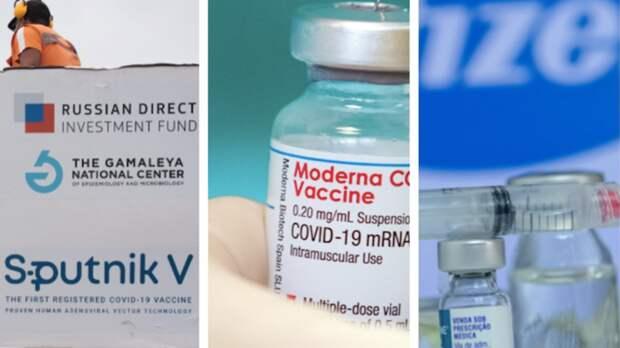 Эксперты огласили список лучших вакцин от COVID-19 в мире
